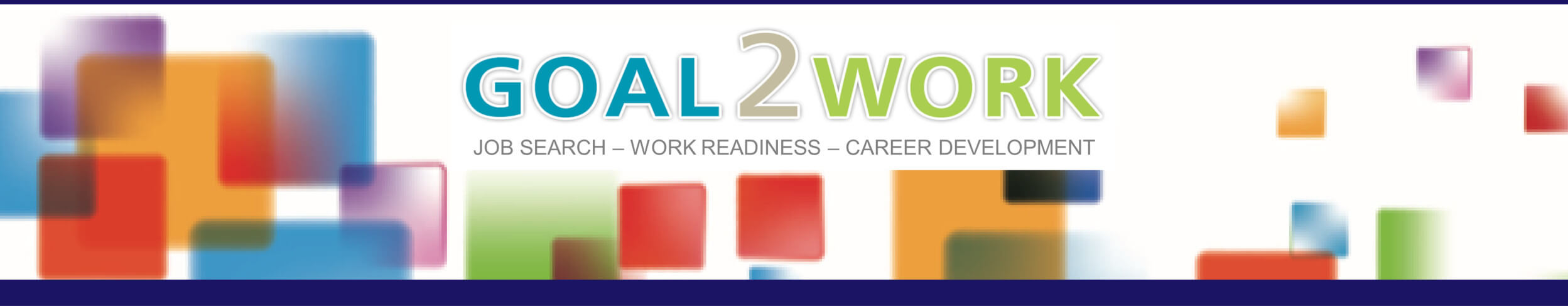 Goal2Work Employability and Job Search Skills Page Header